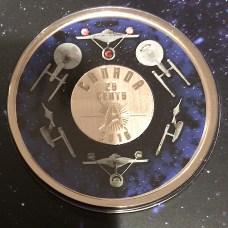 2016 Canada Star Trek 25-cents Coin