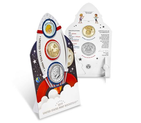 U.S Mint Explore and Discover Coin Set 2019