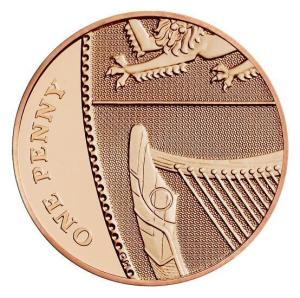 2018 British One Penny Reverse