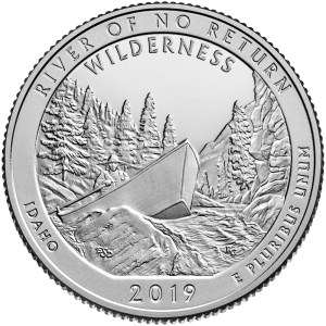 2019 Frank Church River of No Return Wilderness Quarter - Idaho