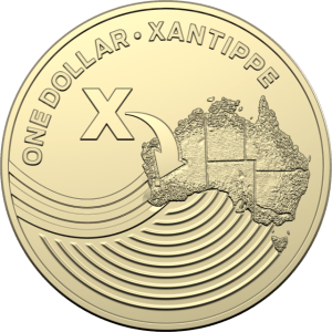 Australian $1 X Coin