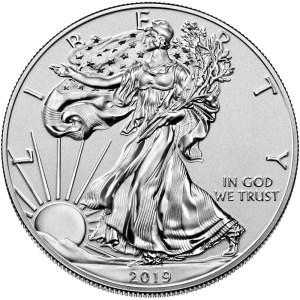 2019 American Silver Eagle Enhance Revers Proof obverse