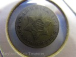1851 Three Cents Silver Coin