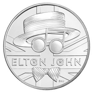 2020 Elton John Uncirculated Coin