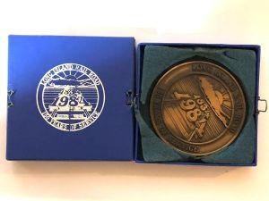 LIRR Sesquicentennial Medal
