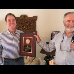 CoinTelevision: John Highfill Presented ANA President's Award at Tulsa Coin Convention 2020.