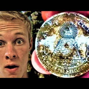 WEIRD COIN FOUND METAL DETECTING: ILLUMINATI CONFIRMED? | THE ULTIMATE COIN HUNT