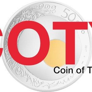 Coin of The Year - COTY Awards 2019