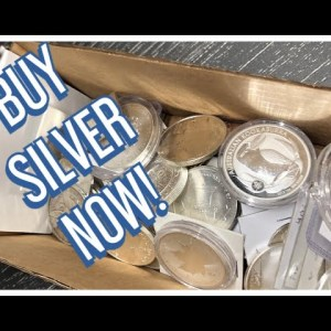 Listen to me..... BUY SILVER NOW