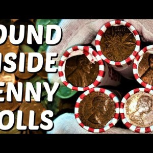 THIS BOX OF PENNIES WAS FULL OF OLD COINS! COIN ROLL HUNTING PENNIES MEGA HUNT | COIN QUEST PENNIES