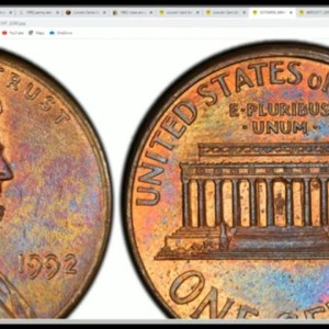 1992 Lincoln Cent Worth Thousands Of Dollars In Your Change?