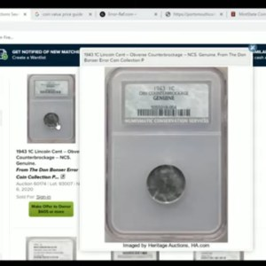 You Have Rare Coins And Mint Errors What Do You Do? How Do You Sell?