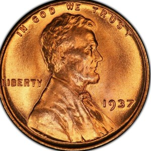 1937 LINCOLN CENT ORIGINAL ROLL REVEAL