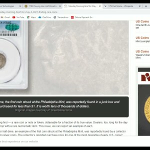 $100,000 COIN Found For A Dollar At A Coin Shop!