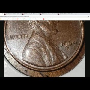 DISCOVERY!! 1969 S Doubled Die Penny Found Under A Bed !