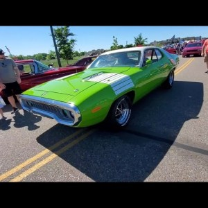 just for fun: car show and ride!