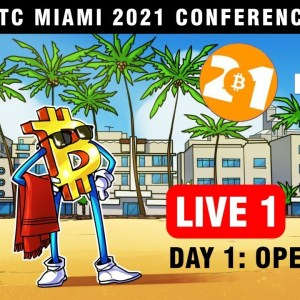 WATCH Bitcoin Miami 2021 LIVE: Inside the 50,000+ attendee event