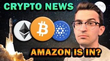 Crypto News - Amazon Crypto Payments, Tether FUD