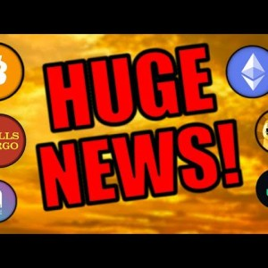 Wells Fargo Just Released the Cryptocurrency Bulls! Customers BANNED! Bitcoin & Ether to SKYROCKET!