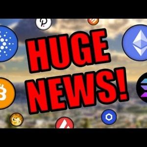 HUGE NEWS! CRYPTOCURRENCY SET TO EXPLODE!! CARDANO, BITCOIN, ETHEREUM INVESTORS BE READY!