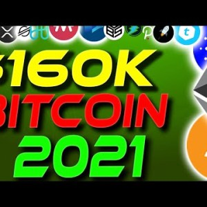 $160k Bitcoin By End Of 2021?! Bitcoin News Today | Altcoins Will Rocket | Crypto News Today