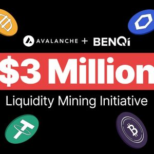 benqi and avalanche launch 3m liquidity mining initiative to accelerate defi growth
