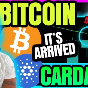 BITCOIN ARRIVES AT PIVOTAL MOMENT. CARDANO BREAKOUT IN THE MAKING!