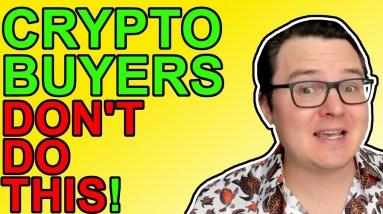 Bitcoin & Crypto Noob Mistakes! Are You Guilty?