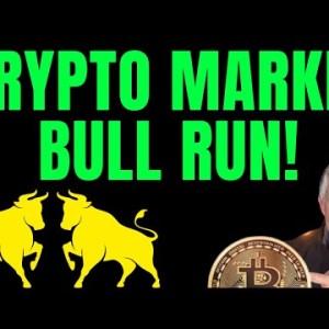 CRYPTO MARKET IS ON A MASSIVE BULL RUN!