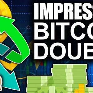 Impressive Bitcoin Double Bottom (Huge Push to $50K Imminent?)