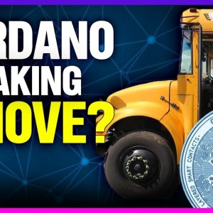 Solid Cardano moonshot with smart contracts 72% staked!