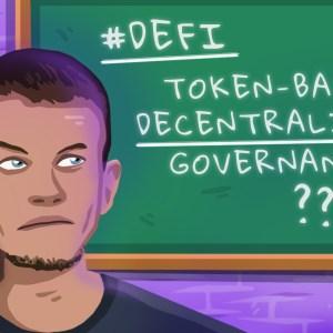 vitalik buterin token based governance not sustainable for defi