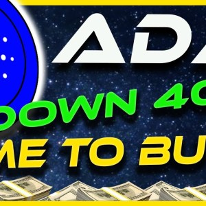 CARDANO ADA DOWN 40% | WHAT'S NEXT FOR CARDANO ADA? | BTC DRAGS MARKET DOWN | Crypto News Today
