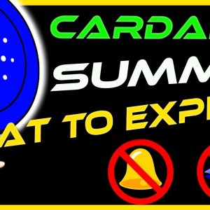 Cardano ADA Update | What To Expect At The Cardano Summit | CRYPTO NEWS TODAY
