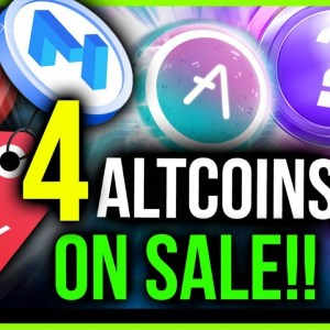 DON'T MISS THE 4 HOTTEST ALTCOINS ON DISCOUNT!