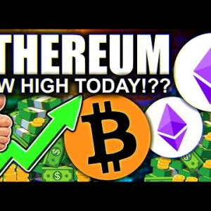 ETHEREUM RALLY WILL MELT FACES!!! $20,000 INCOMING!!! CAN BITCOIN KEEP UP!!!??