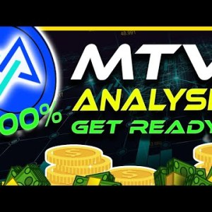 700% Gains Incoming | Is MTV About To Explode? | MTV Analysis & Update | Crypto News Today