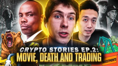 Making $100K in 10 minutes while trading on stage   Crypto Stories Ep. 2