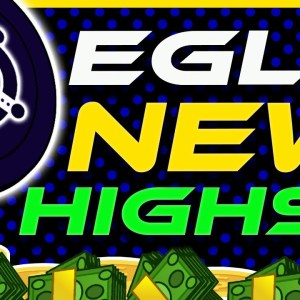 eGLD All Time High Incoming? Elrond eGLD Price Pumps   eGLD Analysis & Update   Crypto News Today
