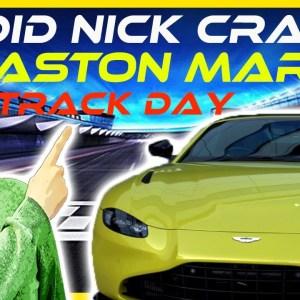 Private Aston Martin Track Day At Silverstone  **INSANE**