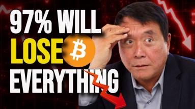 Robert Kiyosaki Bitcoin - VERY HARD TIMES Coming In October!
