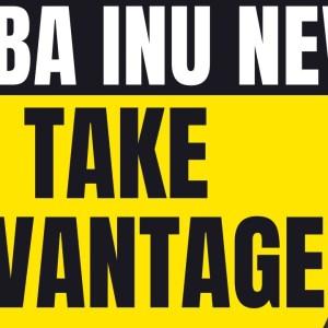 SHIBA INU - TAKE ADVANTAGE....RIGHT NOW!