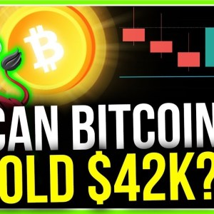 WILL BITCOIN HOLD $42k?? (MOST IMPORTANT CRYPTO SUPPORT)