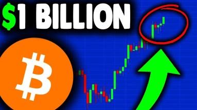 NEW BITCOIN RECORD ($1 Billion Bitcoin ETF)!!! BITCOIN NEWS TODAY & BITCOIN PRICE PREDICTION 2021