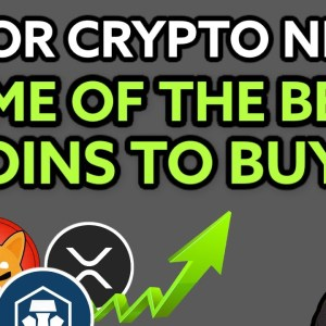 WHAT ARE SOME OF THE BEST COINS TO BUY NOW?! CRYPTO NEWS TODAY! CHECK THIS OUT!