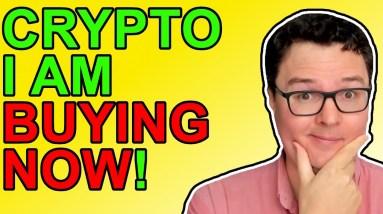 Crypto I'm Buying Now
