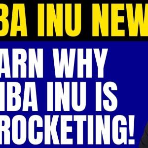 SHIBA INU - LEARN THE EXACT REASON IT IS SKYROCKETING! (SHIBA INU COIN NEWS TODAY!)