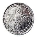 British Shilling 1745