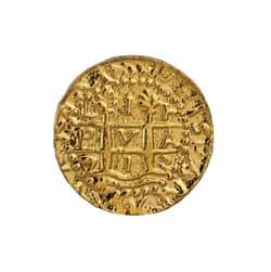 gold doubloon 1 escudos