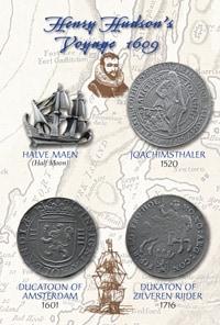 Henry Hudson's Voyage 1609 set